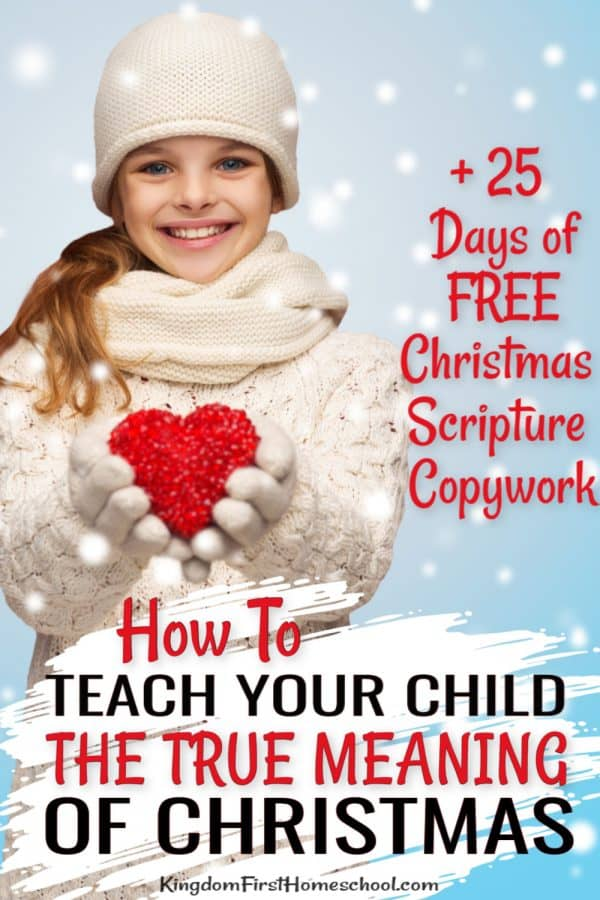 A lot gets lost in the hustle and bustle of Christmas. Making sure our children know the true meaning of Christmas can not be one of them. Here are some ideas to make sure they know the true meaning.