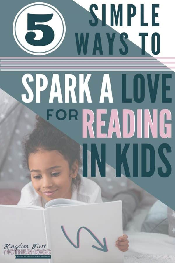 Want your kids to love reading as much as playing video games? Friend, you are not alone, read on to learn how to spark a love for reading in kids.