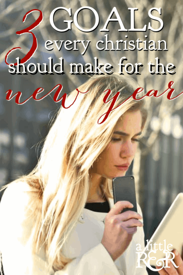 New Year's resolutions or goals tend to focus on areas of personal development, but we should look beyond just personal development for the new year. #ALittlerandr #newyearsresolutions #newyears #goals #goalsetting #prayer #bible #Biblestudy