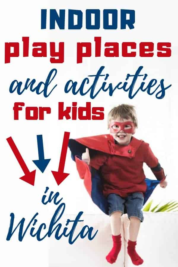 Indoor activities for kids in the Wichita KS area. | Wichita on the Cheap - Great indoor play places, activities, and locations for family fun for children. #indoorfun #wichita #ks #wotc