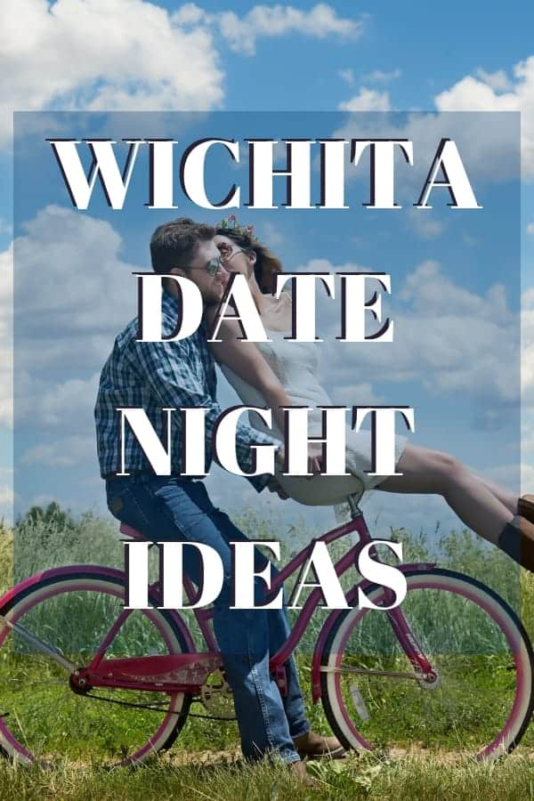 Wichita date ideas - image of a couple riding a bike on a date