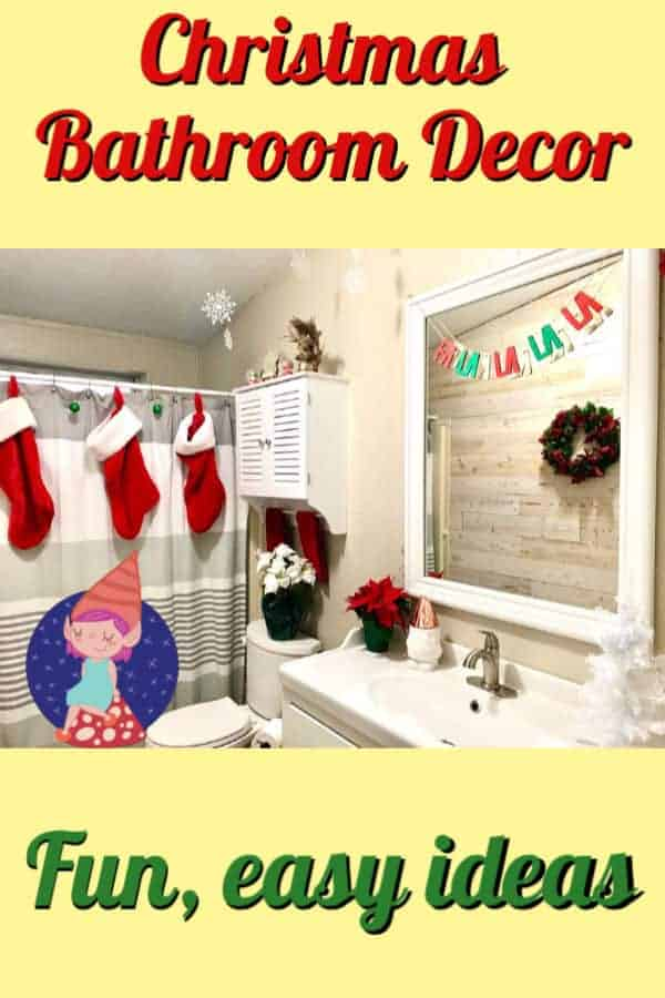 Christmas bathroom decorating ideas