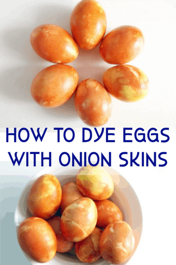 how to dye eggs with onion skins