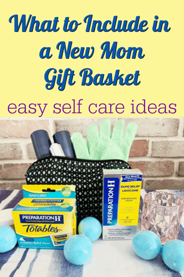 what to include in a new mom gift basket