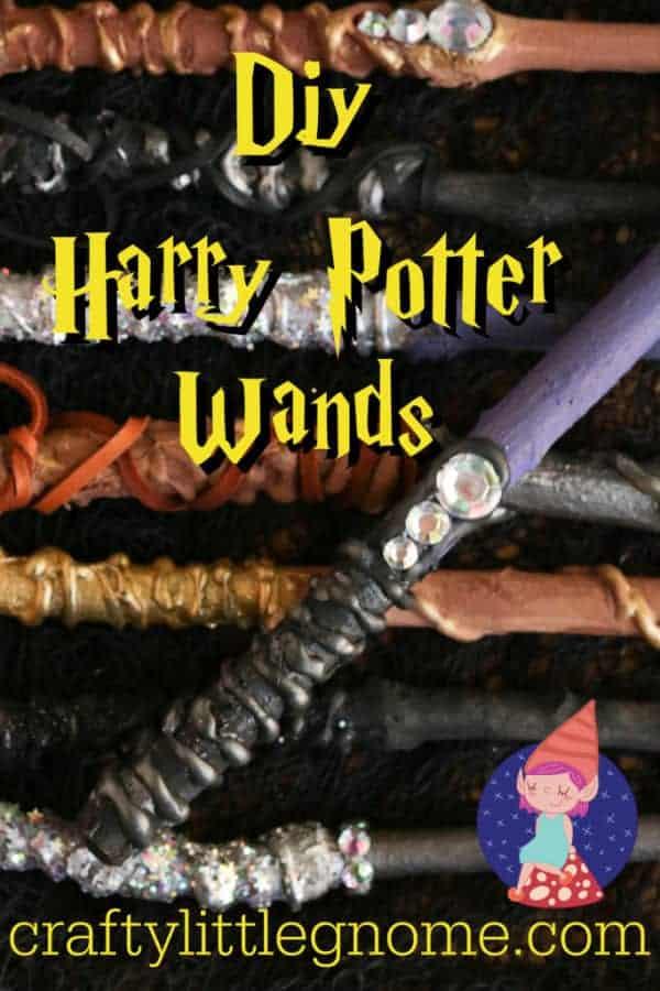 diy harry potter wand tutorial