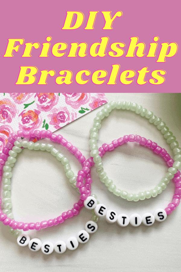 how to make beaded friendship bracelets.