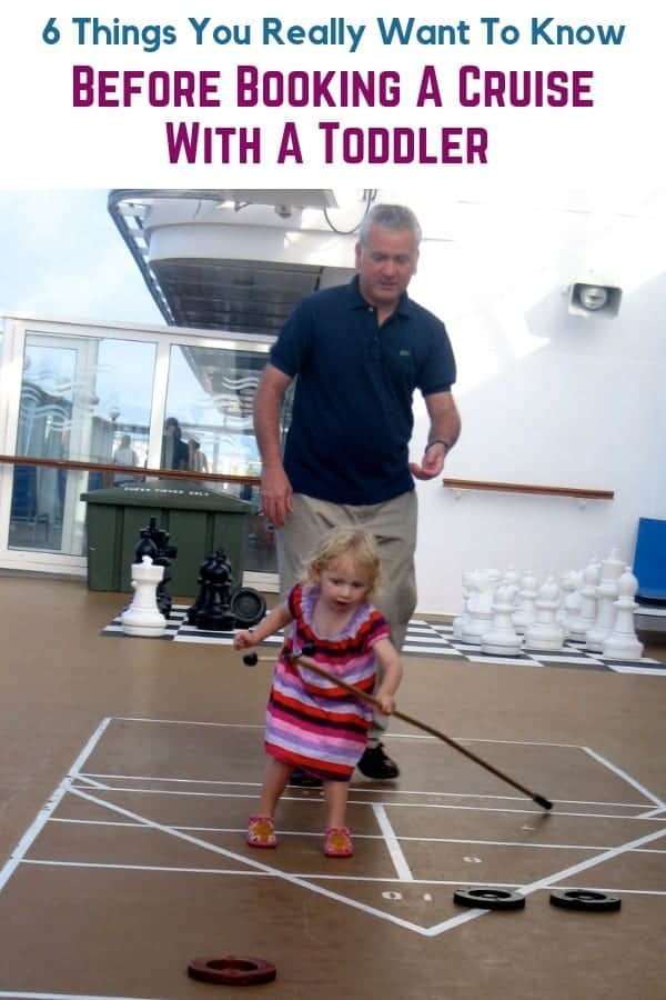 Can you enjoy a cruise vacation with a toddler? We took a trip on the norwegian dawn with a 2-year-old. And we came back with 6 things all parents should know about cruising with a small child. #cruise #toddler #child #tips #ncl #dawn
