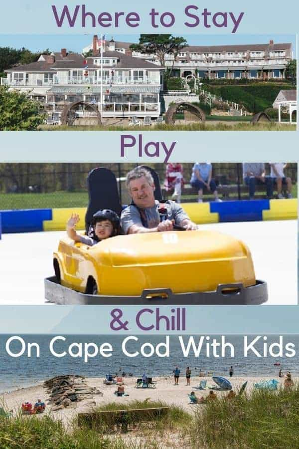 Here are the best things to do on cape cod with kids, by a mom who has been vacationing there for years. We recommend beaches, a book store and the most colorful mini-golf and give hotel tips too. #capecod #massachusetts #thingstodo #kids #vacation #hotels #whalewatching #beach