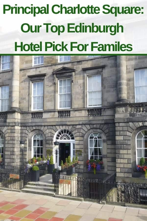 The principal hotel charlotte square offers a rare find in edinburgh: a full-service family friendly hotel in a good location, with a pool. And at a fair price. #edinburgh #hotels #scotland #family #vacation