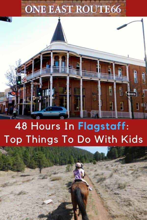 Here are 5 Things To Do With Kids in Flagstaff, Arizona that you'll enjoy, too. Plus restaurant and hotel picks. #flagstaff #AZ #thingstodo #weekend #vacation #kids #family #hotels #restaurants