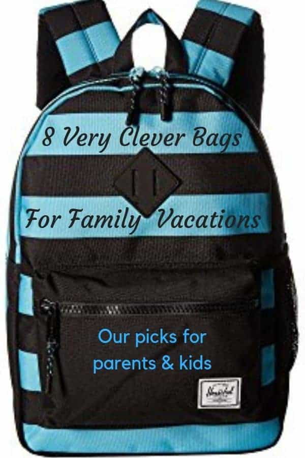 8 weekend bags, carry-ons, rollers and backpacks for family travel. Luggage for kids and parents. #travel #accessories #kids #luggage #backpacks #review