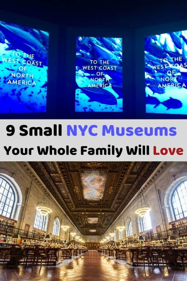 Here are 9 of the best NYC Museums. You might not know all of them, but they all provide cool, authentic NYC experiences that adults and kids will find fun and entertaining. #NYC #museums #kids #families #vacation #weekend