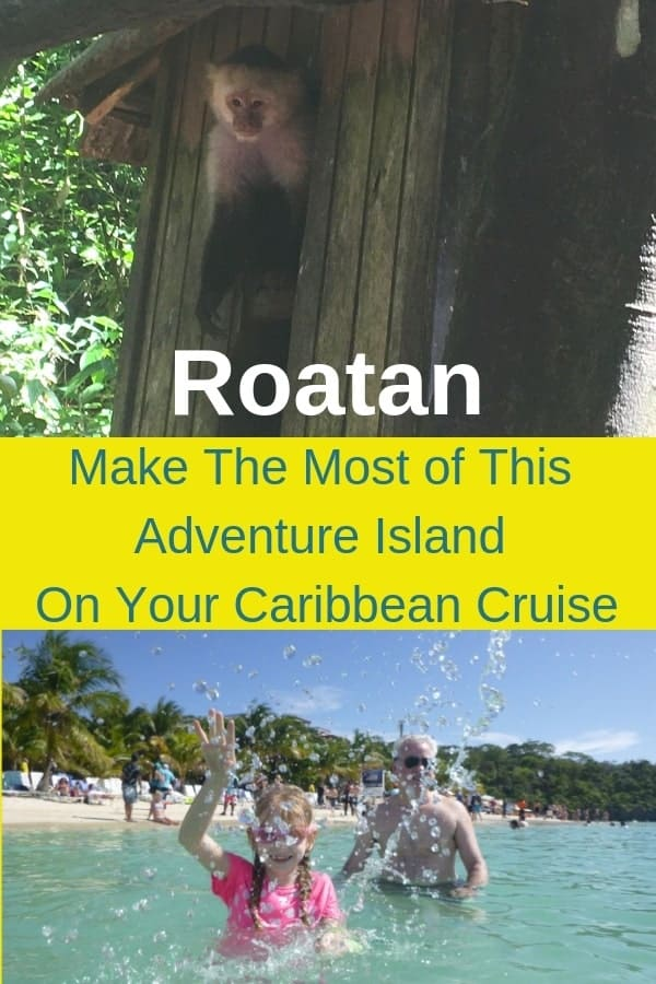 Roatan, honduras is easily the most popular stop on a western caribbean cruise. We had a 1-day visit from the ncl breakaway. Here are ideas for things to do with kids, how to get around, and what to expect from this tiny reef-rimmed island. #ncl #getaway #roatan #honduras #thingstodo #shoreexcursions #tips