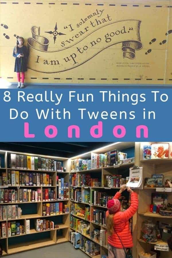 From the harry potter studio tour to notting hill's outdoor market, here are 8 fun things to do in london, england with tweens. #london #england #uk #tweens #thingstodo #vacation #itinerary #ideas #