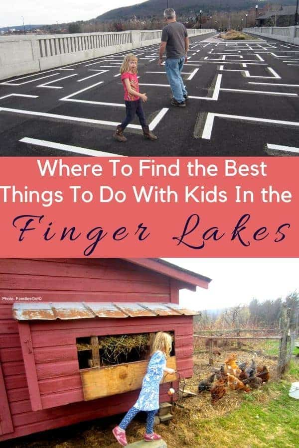 We offer 12 things to do with kids in new york's finger lakes region including hiking, race-track driving and even visiting wineries. #fingerlakes #newyork #thingstodo #kids #vacationideas