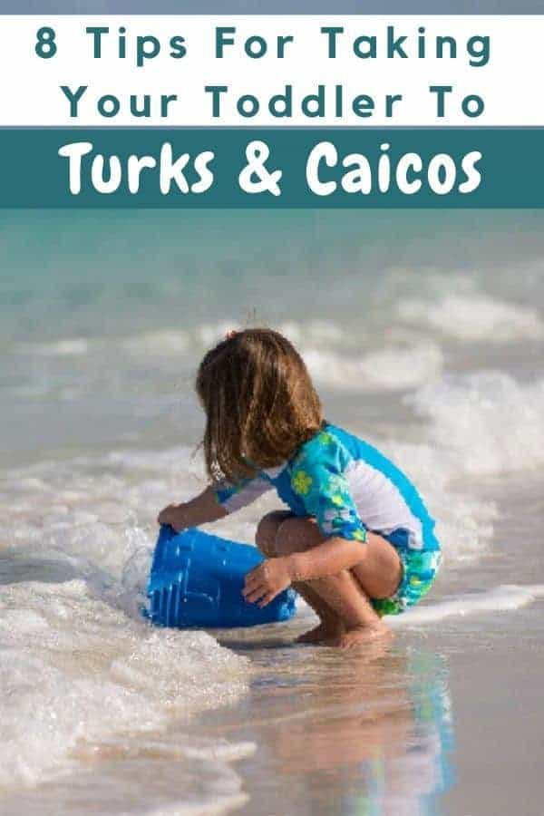 Turks & caicos is not a budget caribbean destination. But it's an easy beach destination with a baby or toddler. Here are tips to help you get around, choose a hotel and save a little money. #tci #turksandcaicos #caribbean, #gracebay #providenciales #resorts #beaches #all-inclusives #toddler #baby #thingstodo #beach #vacation