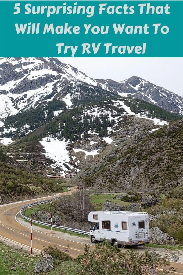 5 reasons why rv travel might be easier than you think and the ideal way to vacation with kids and pets. #rv #motorhome #tips #kids #pets #vacation