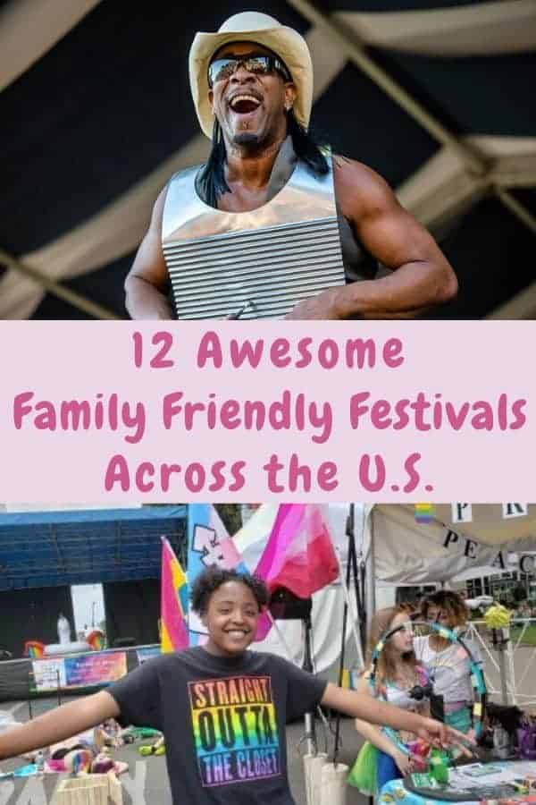 12 festivals across the u. S. That are equally fun for kids and parents. Great inspiration for weekend getaways all year long. #festivals #us #travelideas #familyvacations #kidfriendly #weekend #getaway