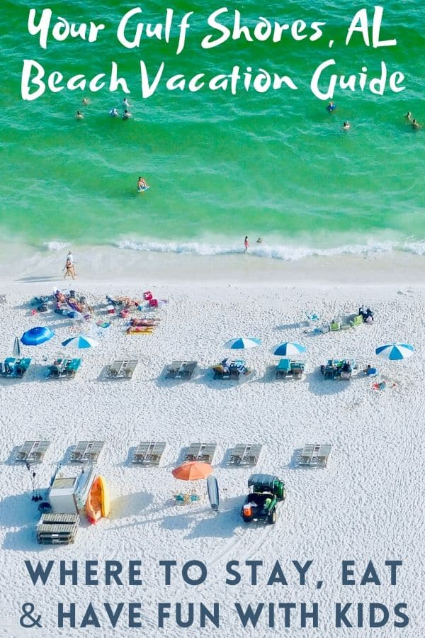 Your guide to an alabama gulf coast beach vacation with kids, where to stay, places to eat and things to do with kids in gulf shores and orange beach. #gulfshores #orangebeach #alabama #kids #restaurants #hotels #beachrentals #thingstodo