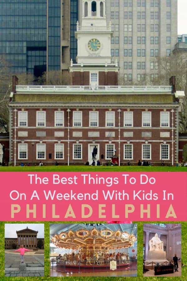 """From top museums to historic sites and hidden """"gardens"""" here are 7 really fun things to do with kids on a weekend visit to philadelphia. #philadelphia #philly #pennsylvania #ideas #thingstodo #weekend #getaway #family #kids"""