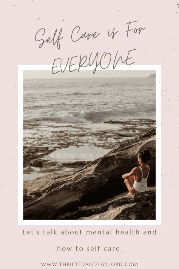 Self care is for everyone, let's chat about mental health awareness and how to self care.