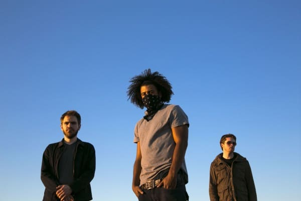 from left to right: Jonathan Snipes, Daveed Diggs, and William Hutson
