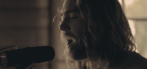 "Screenshot from Matt Corby's ""Monday"" music video"