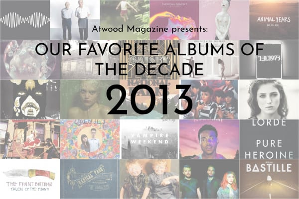 Our Favorite Albums of 2013