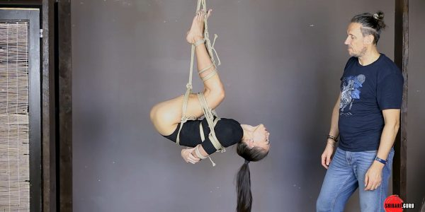 Lesson: shibari dynamic suspension -variation 4