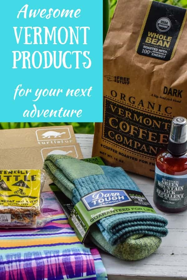 Pinterest image - Vermont products