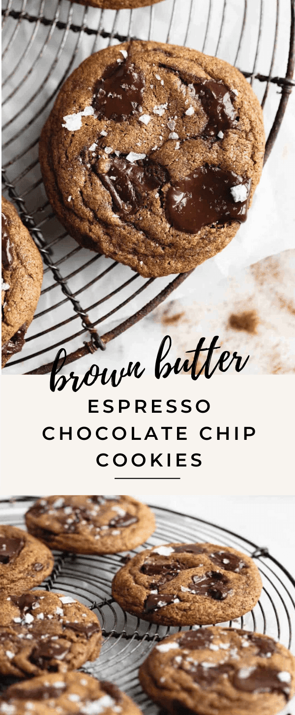the best ever chewy espresso chocolate chips cookies