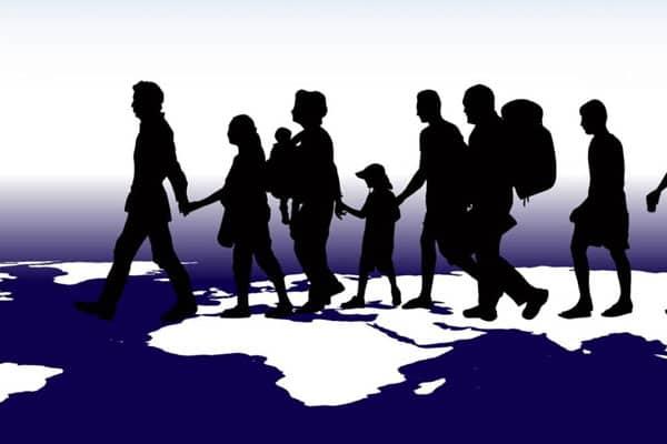 Мир и беженцы.