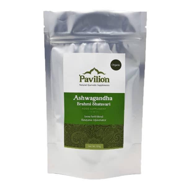 Ashwagandha Brahmi Shatavari powder 100g 1