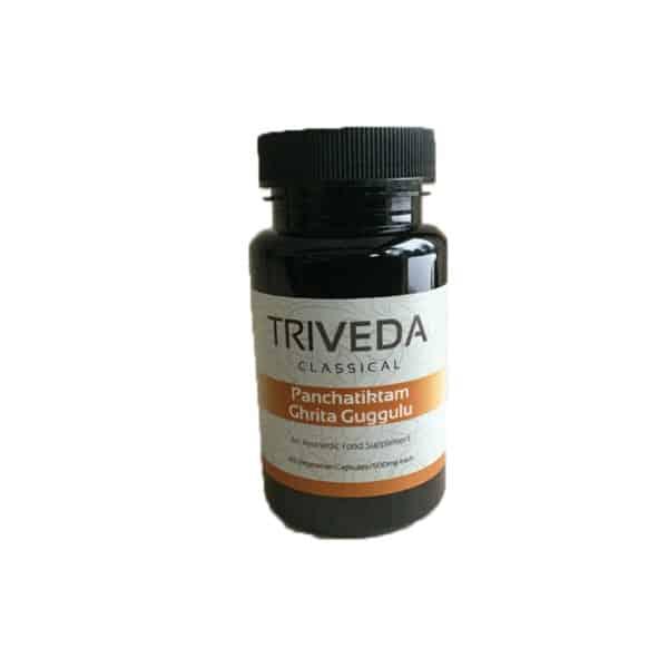 Panchatiktam Ghrita Guggulu 500 mg / 60 Vegetarian capsules 1