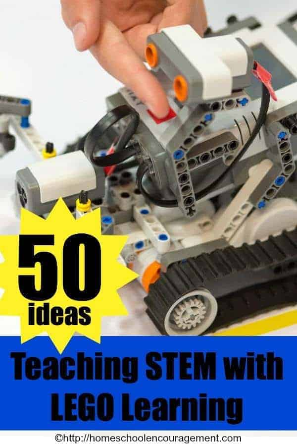 Teaching STEM doesn't have to be hard. And it can even be fun. A great way is with LEGO® learning. Here are 50+ Ideas, Free Printables, Activities, Lesson Plans, Toys and Books for teaching STEM with LEGO Learning.