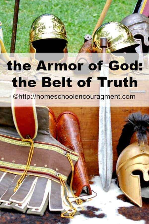 Armor of God - the Belt of Truth considered.