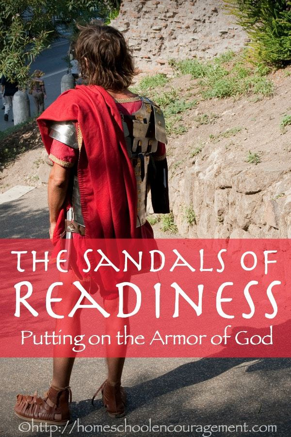 What are the Sandals of Readiness? They are another key part to the Armor of God. Join us as we consider the sandals of the Roman soldier and how God wants us to apply this piece of the armor to our lives.