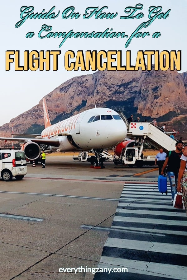 Guide On How To Get a Compensation for a Flight Cancellation