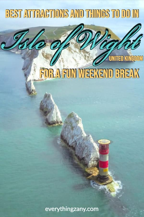 Best Attractions and Things to do in Isle of Wight For A Weekend Break