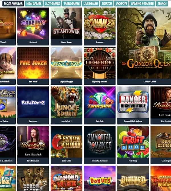 Jonny Jackpot Casino Review - 100 free spins and $/€1,000 free bonus