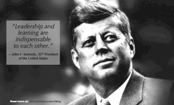 How to become a senior leader - JFK