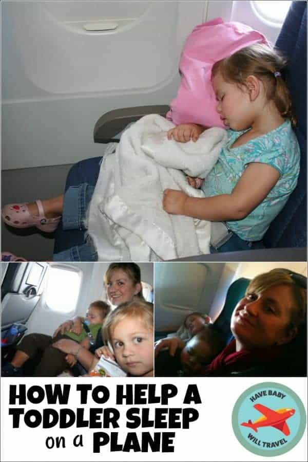 toddler sleep on plane, toddler sleep on a plane, flying with toddlers, flying with a toddler