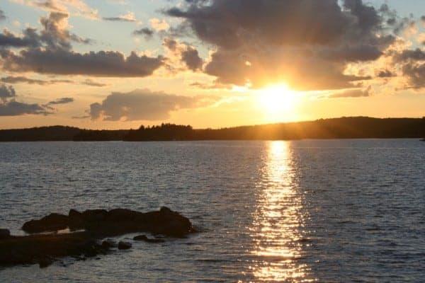Sunset, Stoney Lake, Irwin Inn