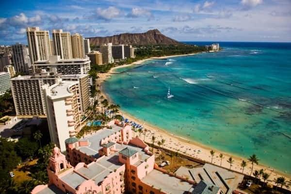 Oahu, waikiki beach, hawaii, Family vacations on Oahu