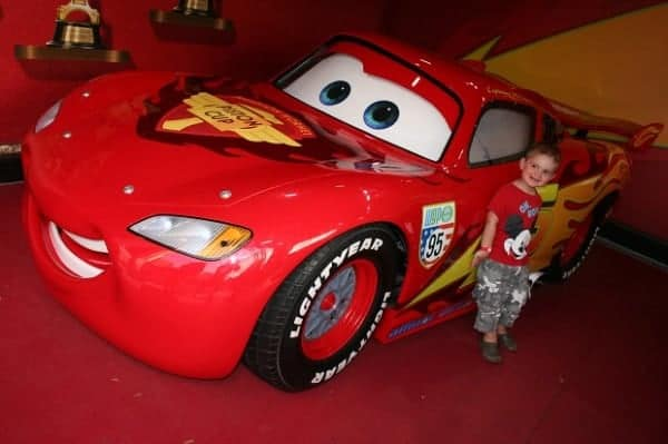 lightning mcqueen hollywood studios, hollywood studios, hollywood studios with a baby, tips for hollywood studios