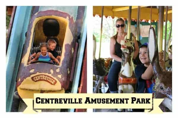 Centreville Amusement Park, Toronto with kids