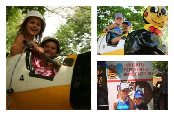Centreville Amusement Park, toronto with kids, centre island
