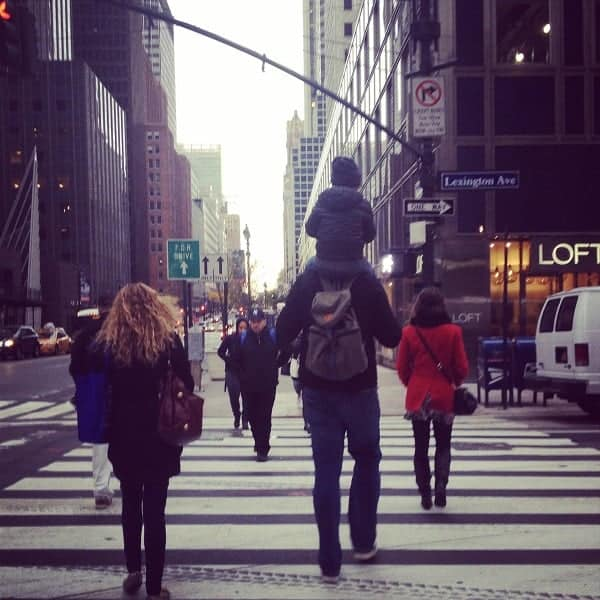new york with babies