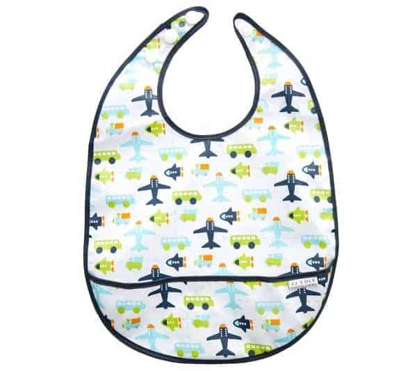 baby travel gear, wipeable bib