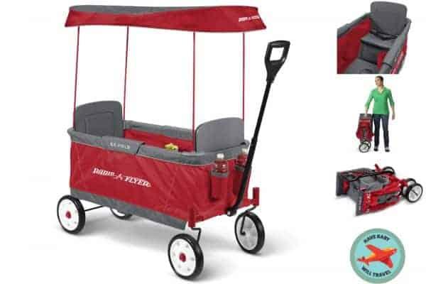 stroller alternative, stroller alternatives, stroller alternative for travel, stroller alternatives for travel, folding wagon, light folding wagon, travel with folding wagon, folding wagon for travel